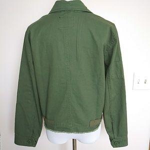 0c3abfac6b141 Sanctuary Jackets & Coats - Sanctuary Military Crop Jacket Sz L Fatigue  Green